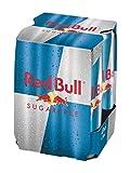 RED BULL bebida energética sin azúcar pack 4 latas 25...