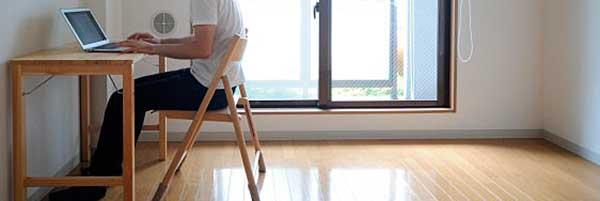 vivir con menos muebles