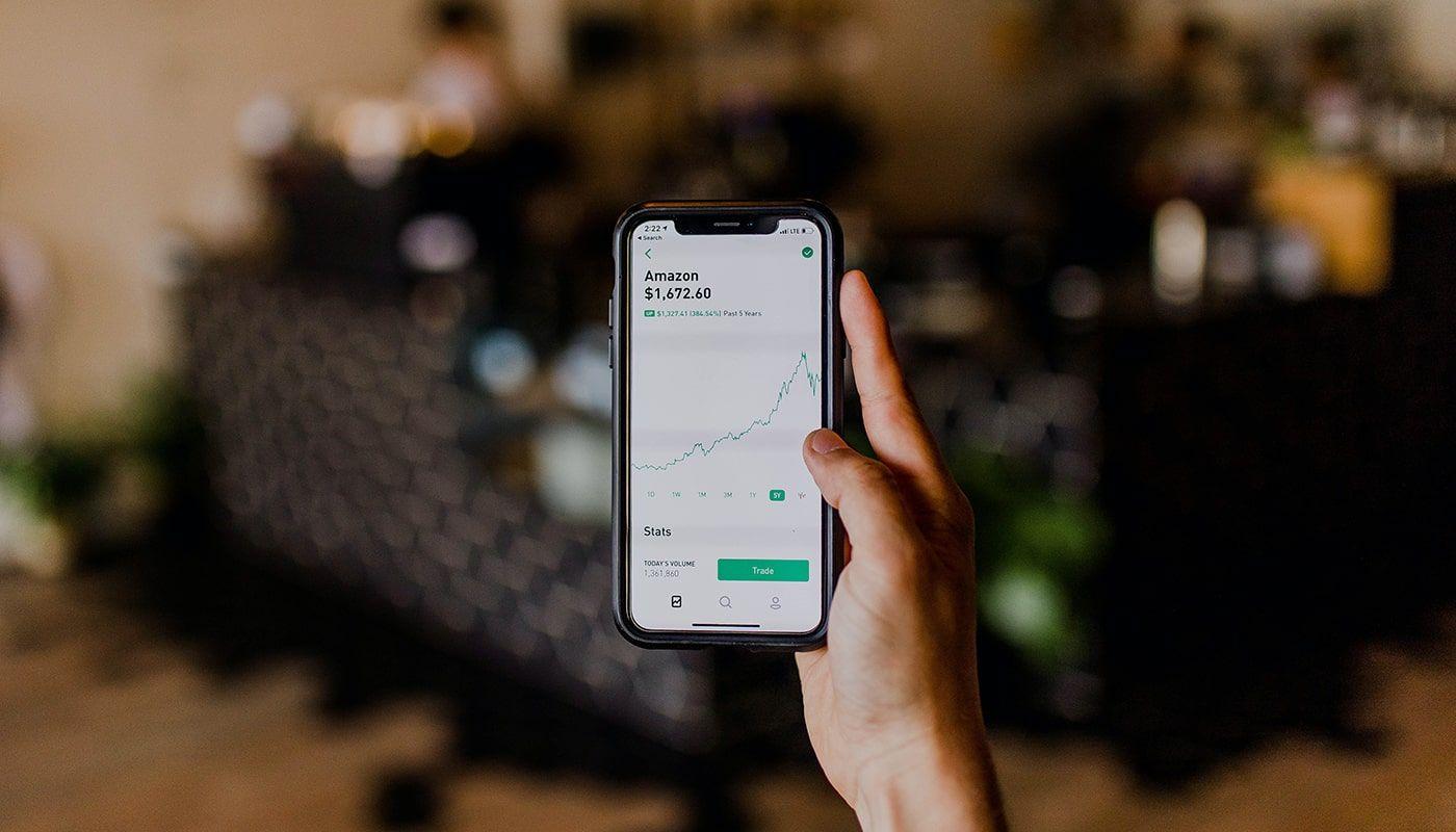 inversión con móvil