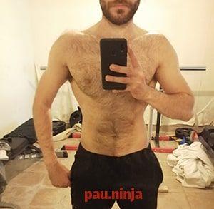 progresión masa muscular