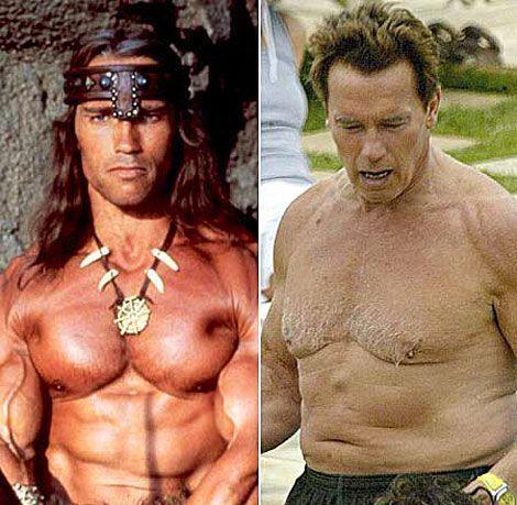 Arnold antes y después