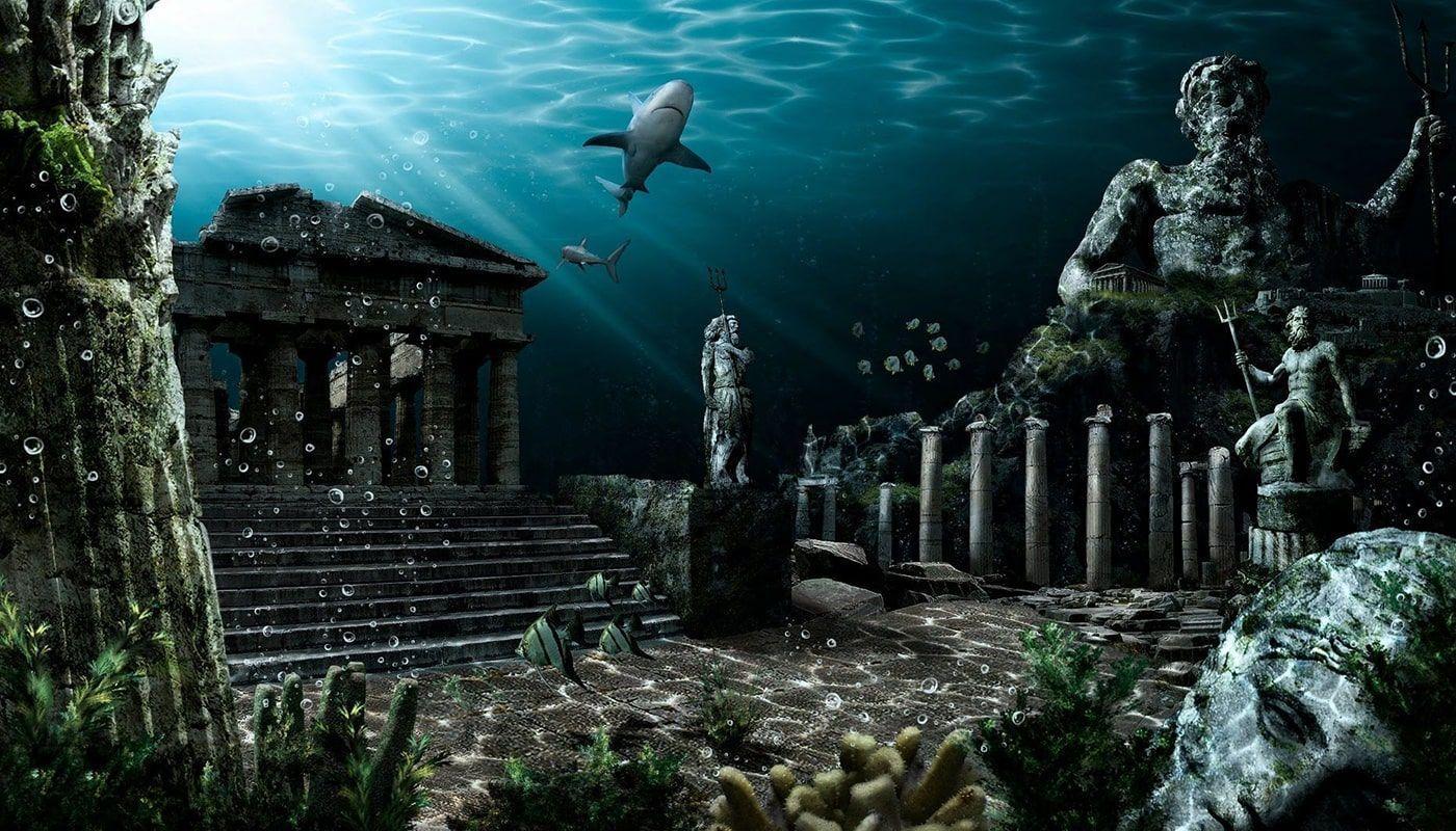 Atlántida bajo el agua