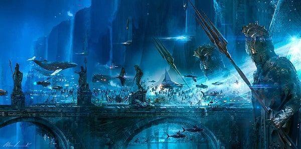 atlantis de Aquaman