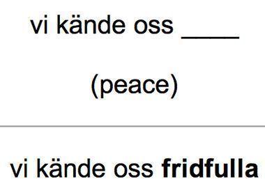 cartas de idiomas