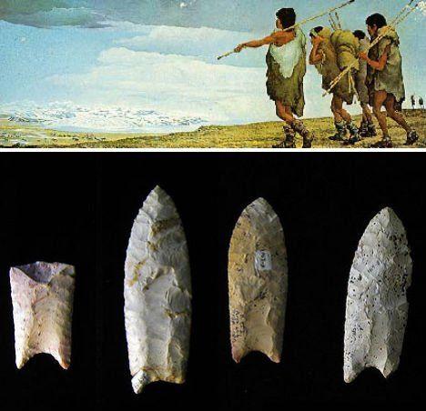 cultura Clovis y puntas