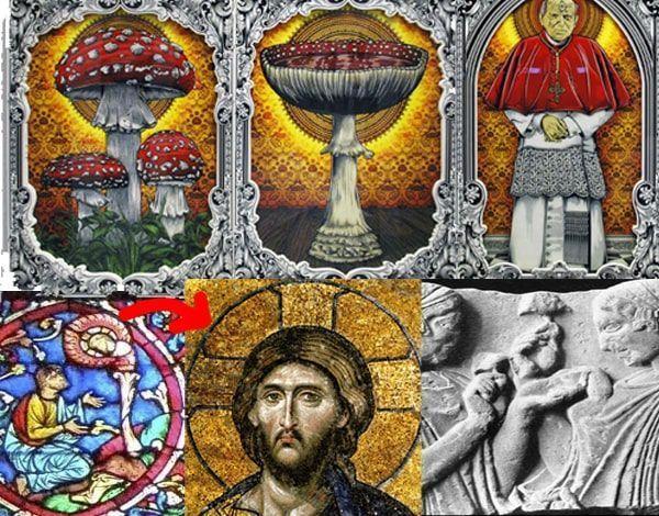 religión y setas