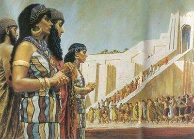 representación sumerios