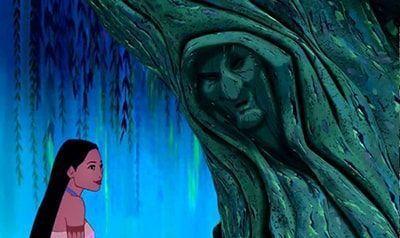 árbol hablando
