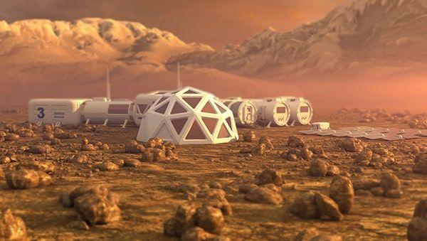colonización Marte