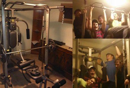 mi primer gym en casa